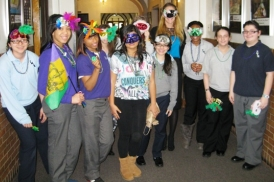 group at Carnavale